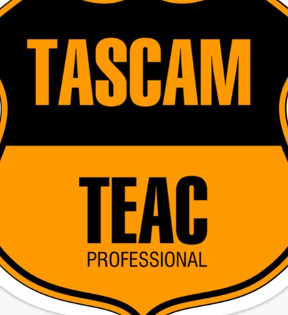 Tascam Teac Professional Sticker