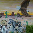 mural airbrushed by Airbrushr  Rick Shores