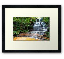 Junction Falls. Framed Print