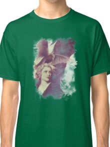 The Lady of Ravens surreal artwork Classic T-Shirt