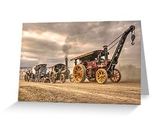 Traction Power  Greeting Card