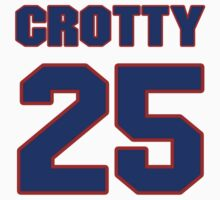Chris, Crooms, 25, team, jersey number, shirt number, sweater number, t-shirt, National, football, player, NFL by imsport