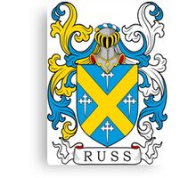 Russ Coat of Arms Canvas Print