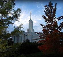 Mt. Timpanogos LDS Temple - American Fork, Utah by Ryan Houston