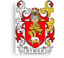 Rymer Coat of Arms Canvas Print