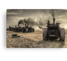 Steaming Giants  Canvas Print