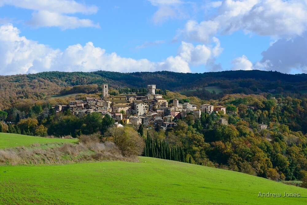 San casciano dei bagni tuscany italy by andrew jones redbubble - San casciano dei bagni ...