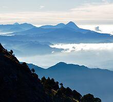 Descending Volcan Tajumulco by Valerie Rosen
