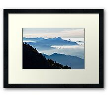 Descending Volcan Tajumulco Framed Print