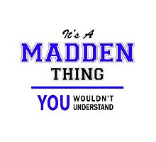 It's a MADDEN thing, you wouldn't understand !! by thestarmaker