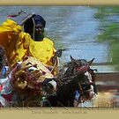 african rider by fuxart