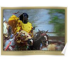 african rider Poster