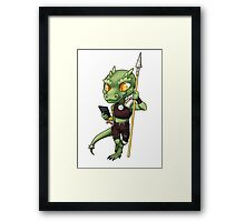 Texts from Kobold Framed Print