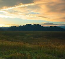Front Range Sunset part 2 by Paul Gana