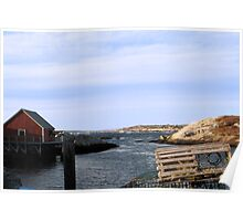 Peggy's Cove, NS (1) Poster