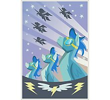 Wonderbolt Poster Photographic Print