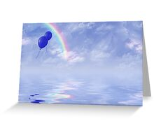 Carefree Colors Greeting Card