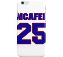 Chris, Martin, 25, team, jersey number, shirt number, sweater number, t-shirt, National, football, player, NFL iPhone Case/Skin