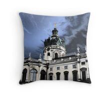castle charlottenburg in berlin germany Throw Pillow