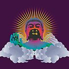 Rainbow Buddha by FredzArt
