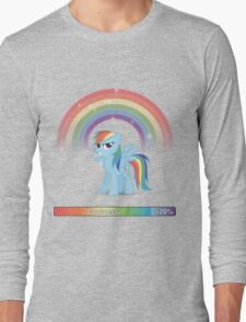 20% cooler - with text Long Sleeve T-Shirt