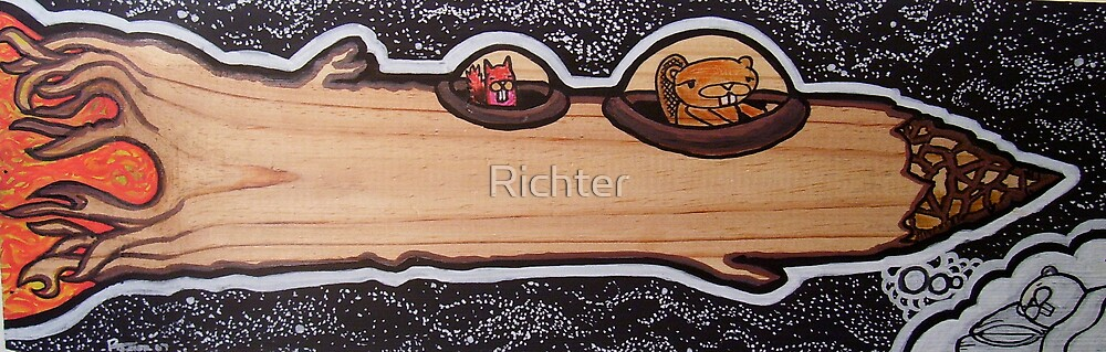 squirrel & beaver by Richter
