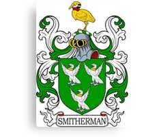 Smitherman Coat of Arms Canvas Print