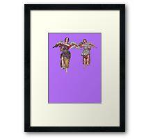 Two Angels of San Xavier Framed Print