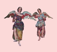 Two Angels of San Xavier One Piece - Short Sleeve