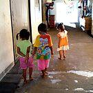 Thai Children by Vee T