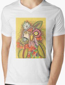 Flourish Mens V-Neck T-Shirt