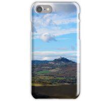 Monte Amiata and Radicofani, Val d'Orcia, Tuscany Italy iPhone Case/Skin