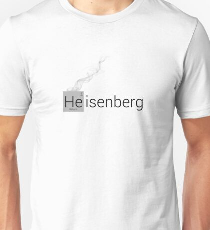 Heisenberg Colourless Unisex T-Shirt