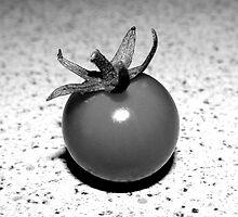 Cherry Tomato - Black & White by JoJe