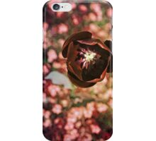 Marsala Tulip Flower iPhone Case/Skin