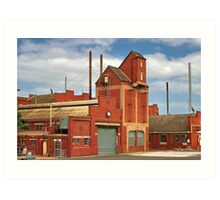 """""""The Valley Mill"""" Art Print"""