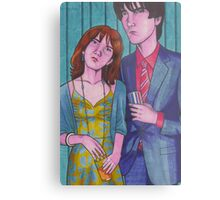 Party Hard (Neville and Hermione) Metal Print