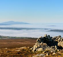 Sleivenamon from the summit of Brandon Hill, Counties Tipperary and Kilkenny, Ireland by Andrew Jones