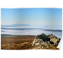 Sleivenamon from the summit of Brandon Hill, Counties Tipperary and Kilkenny, Ireland Poster
