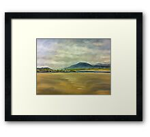 Dry Dock at Shell Island Framed Print