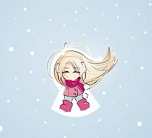 snow angel by thedannie
