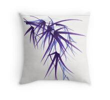 """""""Relax"""" sumi-e ink brush painting/drawing Throw Pillow"""