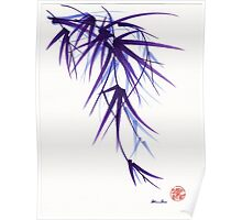"""Relax"" sumi-e ink brush painting/drawing Poster"