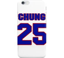 National football player Patrick Chung jersey 25 iPhone Case/Skin