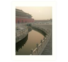 Forbidden City - Beijing Art Print