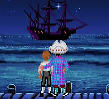 Guybrush & Stan (Monkey Island) by themasrix