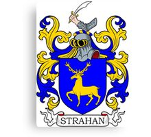 Strahan Coat of Arms Canvas Print