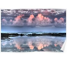 Dolphin Point Reflections Poster