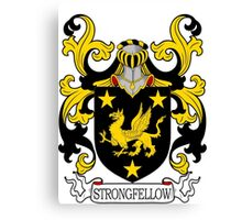 Strongfellow Coat of Arms Canvas Print