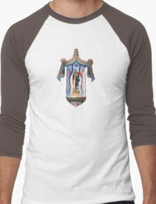 San Xavier's Mother Mary Men's Baseball ¾ T-Shirt